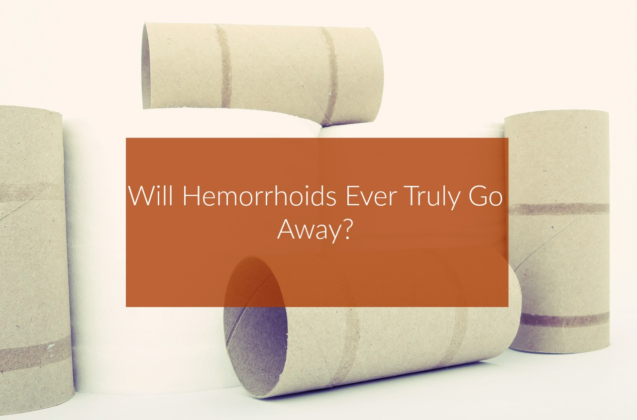 how long does it take for hemorrhoids to go away