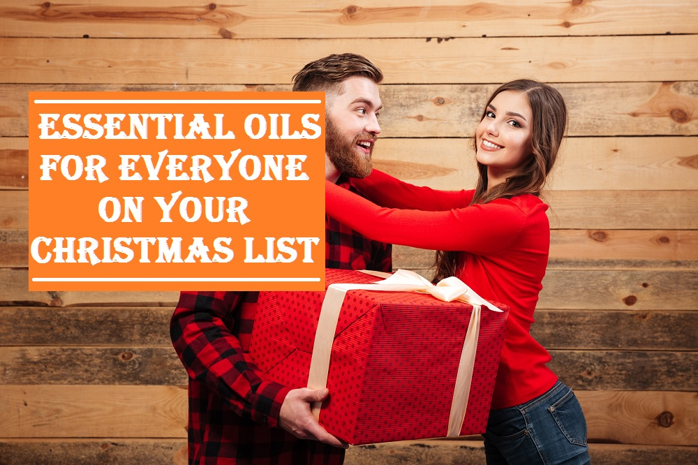 Essential Oil Christmas Gift