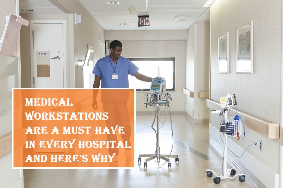 Medical Workstations in Hospital